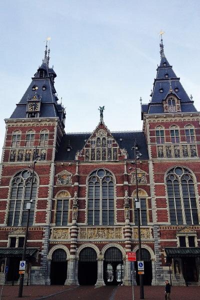 Het oudste gedeelte van het museum voltooid in 1895