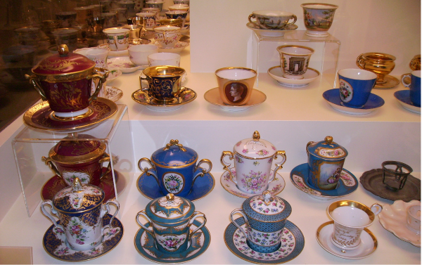 Een blik één van de vele voorwerpen in het museum