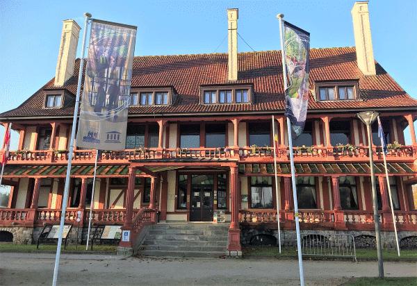 voorzijde in Memorial Museum Passchendaele 1917